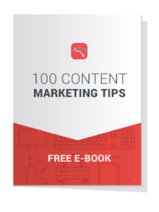 100 Content Marketing Tips Free Ebook